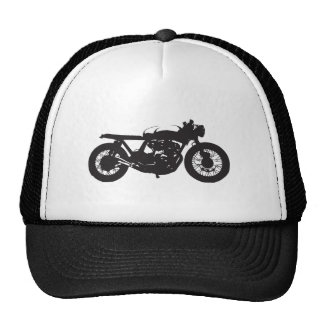 Pochoir de cool de cru de moto de coureur/gosse de casquettes de camionneur