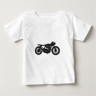Pochoir de cool de cru de moto de coureur/gosse de t-shirt