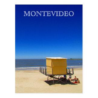 pocitos Montevideo de playa Carte Postale