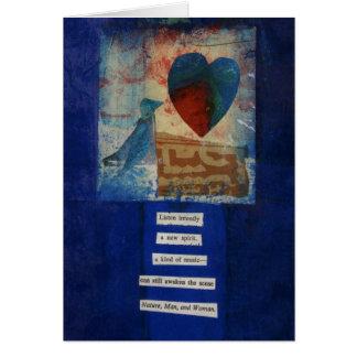 Poème d'amour de Dada Carte De Vœux