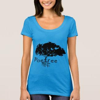 Poetree/prochain T-shirt de niveau de cou scoop