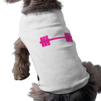 Poids de roses indien t-shirt pour chien