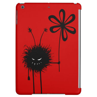 Poids léger mauvais rouge d'insecte de fleur