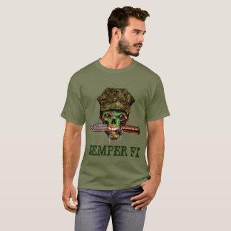 Poignard marin de zombi, Semper fi, personnaliser, T-shirt