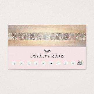 Poinçon de fidélité de client de mèche de cartes de visite