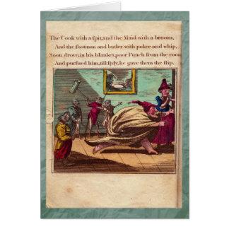 Poinçon et carte de voeux du plat X d'histoire de