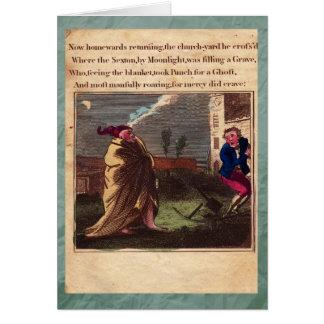 Poinçon et carte de voeux du plat XII d'histoire