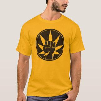 Poing de mauvaise herbe t-shirt