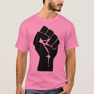 Poing de puissance noire t-shirt