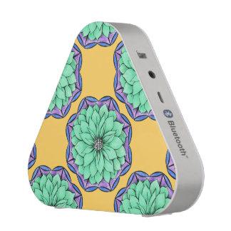 POINSETTIA MODERNE dans le BLEU Haut-parleur Bluetooth