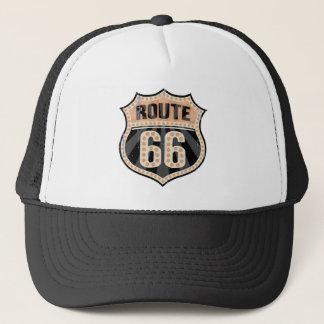 Point -717 de l'itinéraire 66 casquette trucker
