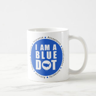 Point bleu Etats-Unis Mug