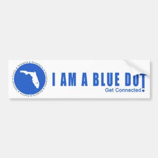 Point bleu la Floride Autocollant Pour Voiture