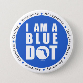 Point bleu la Floride Badges