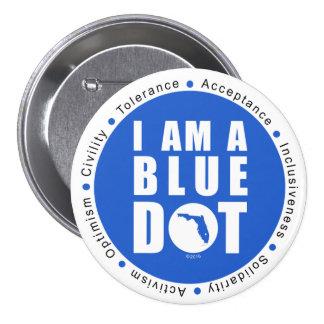 Point bleu la Floride Badges