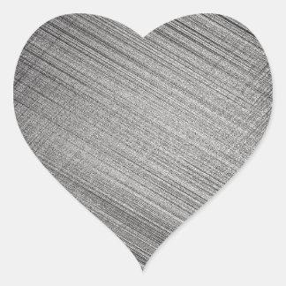 Point de charbon de bois sticker cœur