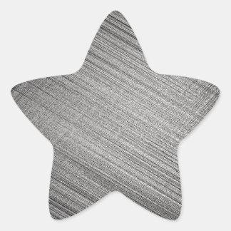 Point de charbon de bois sticker étoile