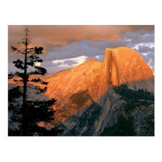 Point de glacier, parc national de Yosemite Cartes Postales