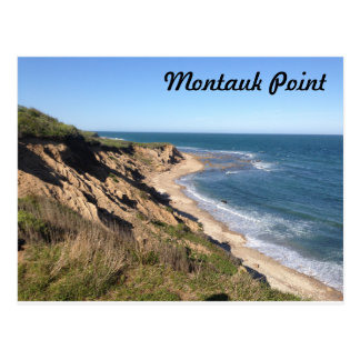 Point de Montauk Carte Postale