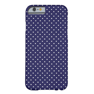 Point de polka de marine coque iPhone 6 barely there