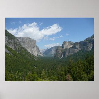 Point d'inspiration en parc national de Yosemite Poster