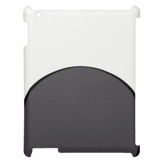 Point gris-foncé coques pour iPad