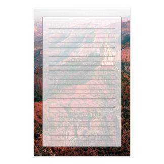 Point impérial et bâti Hayden au coucher du soleil Papier À Lettre Personnalisable