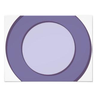 Point lilas impression photo