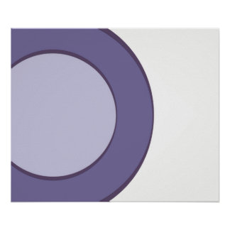 Point lilas poster