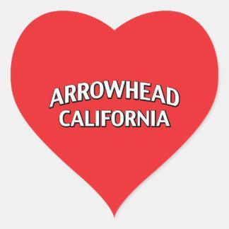 Pointe de flèche la Californie Autocollants