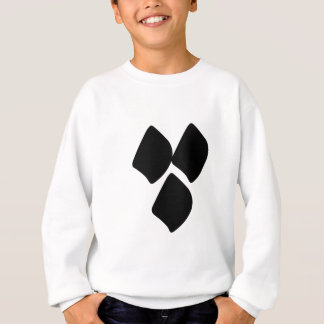 Points de l'amour - noir sweatshirt