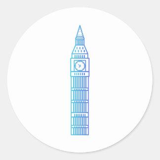 Points de repère - autocollant de Big Ben