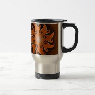 Points d'infini, no. 1 mug de voyage