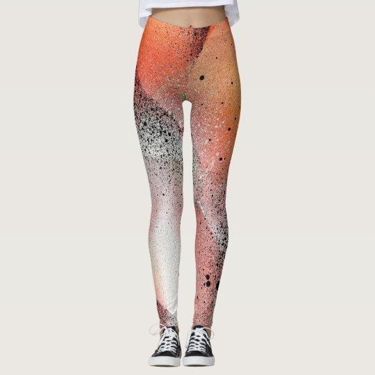 Points et couleurs leggings