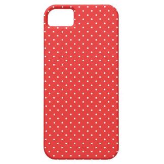 Pois blanc rouge de pavot chic. Achetez l'iPhone Coque iPhone 5 Case-Mate