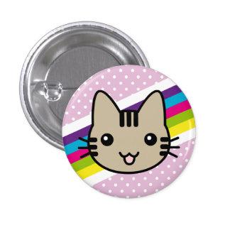 pois brun clair de chat badges