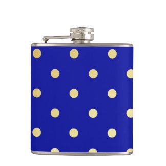 pois de bleu d'or flasques