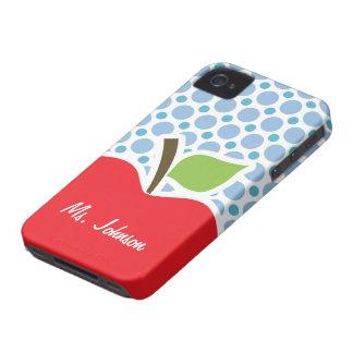 Pois de bleus layette ; Apple Coque iPhone 4 Case-Mate