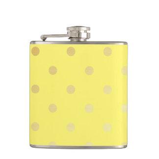 pois élégant de jaune d'or flasques