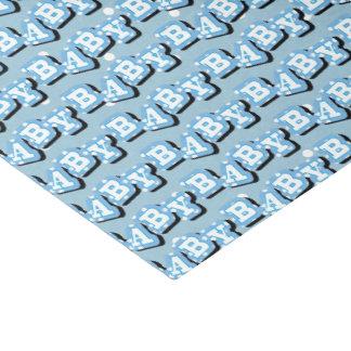 Pois minuscule sur l'arrière - plan bleu pour le papier mousseline