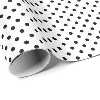 Fournitures pois noir et blanc pour loisirs cr atifs zazzle - Carre blanc chaux ...