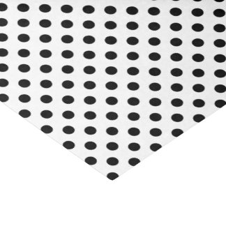 Pois noir sur l'arrière - plan blanc papier mousseline