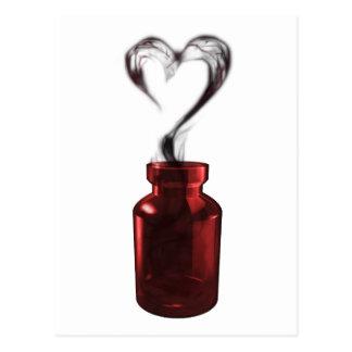 poison d'amour carte postale