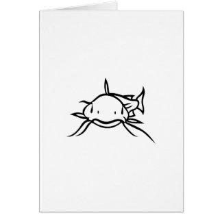 Poisson-chat Carte De Vœux