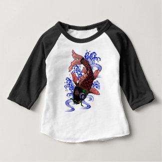 Poisson japonais t-shirt pour bébé