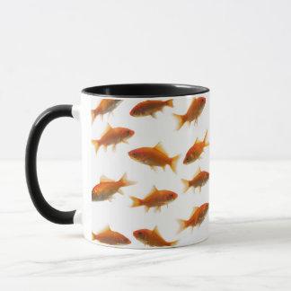 Poisson rouge mug