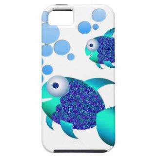 Poissons bleus coque Case-Mate iPhone 5