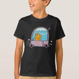 Poissons conduisant une voiture - le T-shirt de
