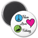 Poissons d'amour de paix aimant