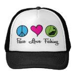 Poissons d'amour de paix casquette